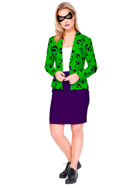 Chaqueta de The Riddler Opposuits para mujer