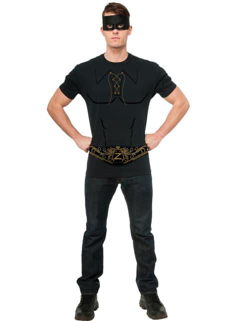 Mens Zorro costume kit