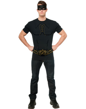 Kit disfraz de Zorro para hombre