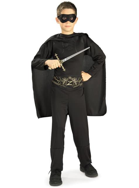 Disfraz del Zorro Classic para niño