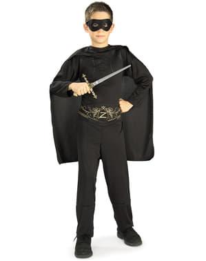 Zorro Klassisk Kostyme Barn