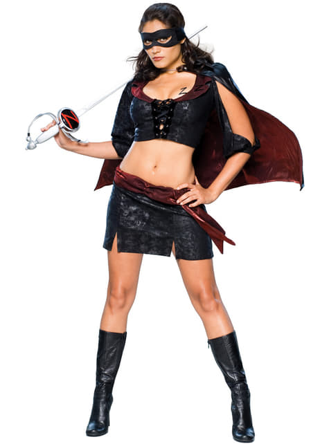 Womens Lady Zorro costume