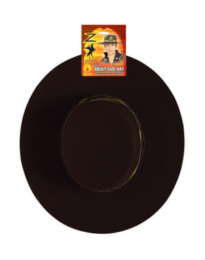 Chapeau Zorro adulte