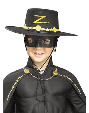 Kids Zorro costume kit