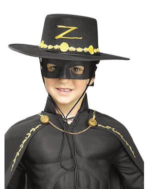Zorro hatt och mask för barn
