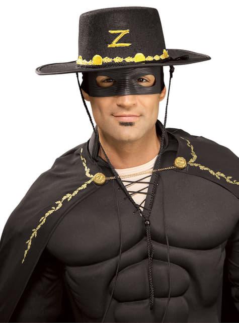 Adults Zorro costume kit