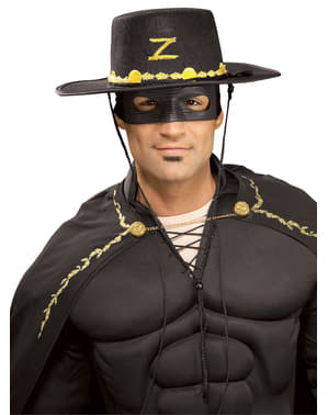 Zorro kostyme sett til voksen