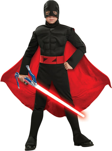 Disfraz del Zorro Generación Z para niño