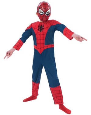 Boys Ultimate Spiderman Muscular Costume