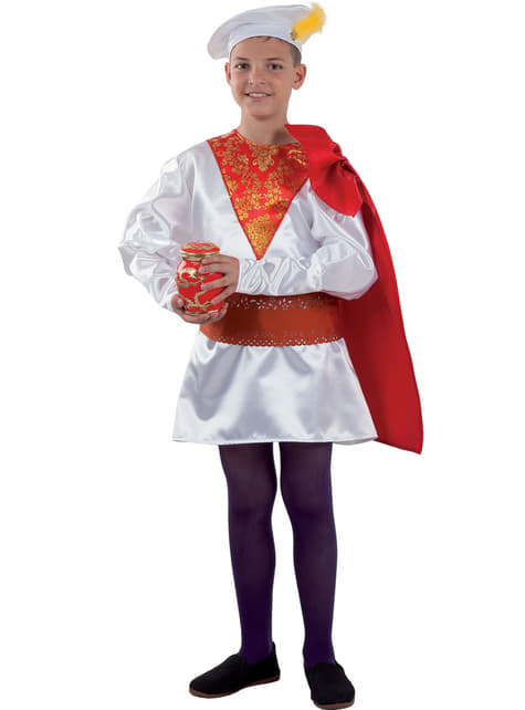 Boys Melchor Royal Page Costume