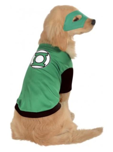 Kostým pro psa Green Lantern