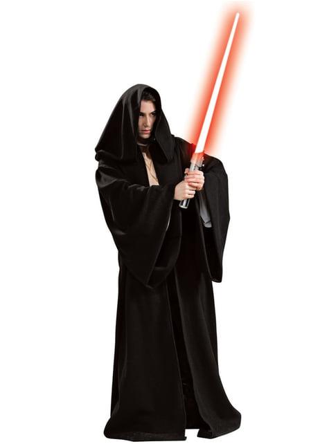 Túnica Sith deluxe para hombre