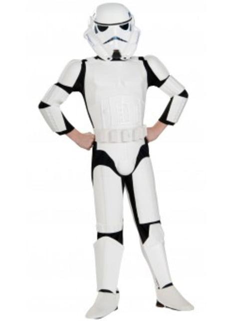 Disfraz de Stormtrooper deluxe para niño