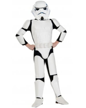 Chlapecký kostým Stormtrooper deluxe
