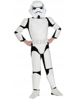 Costum Stormtrooper deluxe pentru băiat