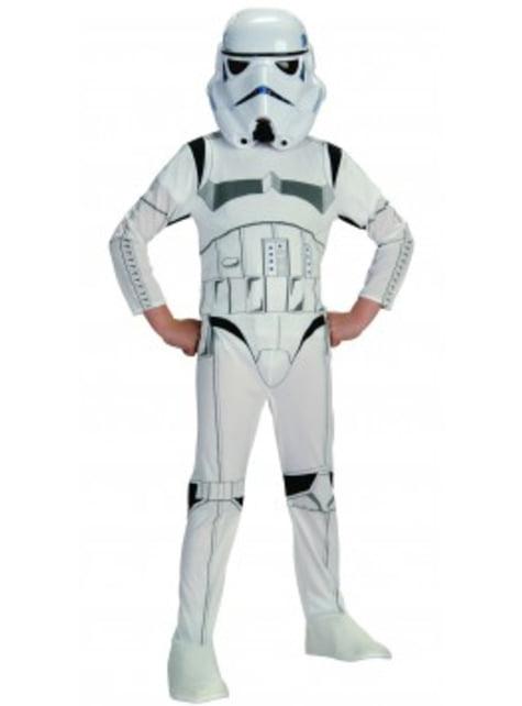 Disfraz de Stormtrooper movie para niño