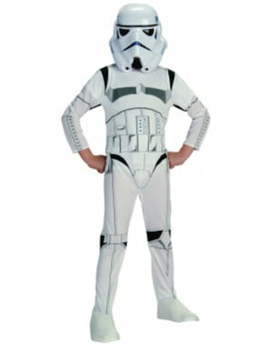 Fato de Stormtrooper movie para menino