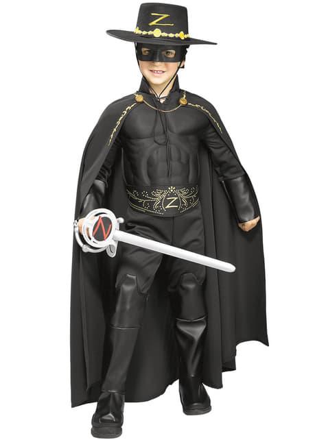 Kids Zorro deluxe cape