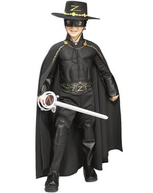 Cape Zorro deluxe voor jongens