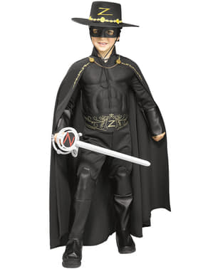 Kids Zorro deluxe cape