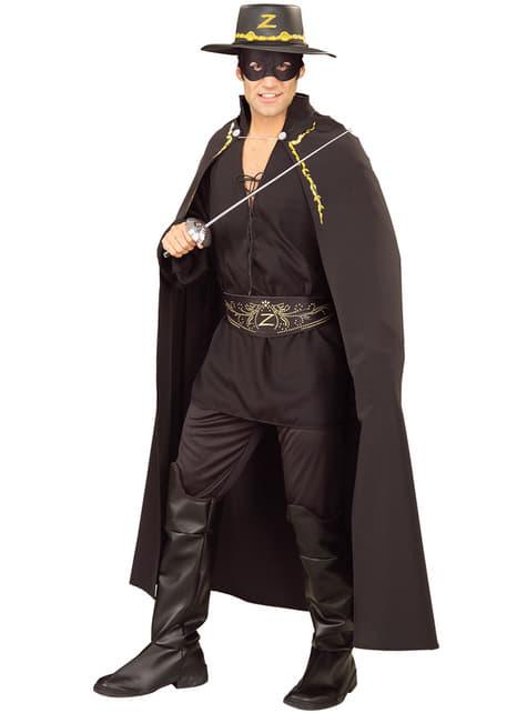Adults Zorro deluxe cape