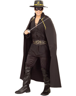 Peleryna Zorro deluxe dla doroslych