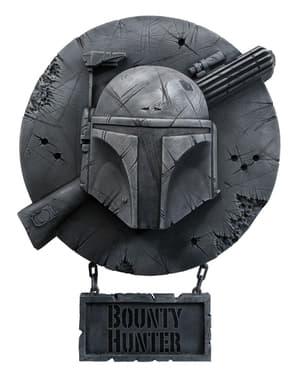 Decoração para a parede Boba Fett Star Wars