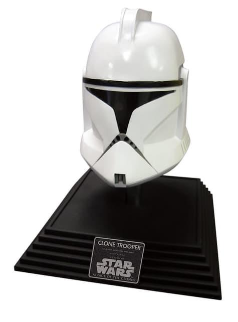 Casco de Clone Trooper Star Wars Edición Coleccionista