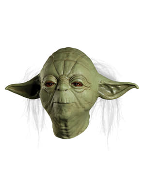 Máscara de Yoda deluxe para adulto