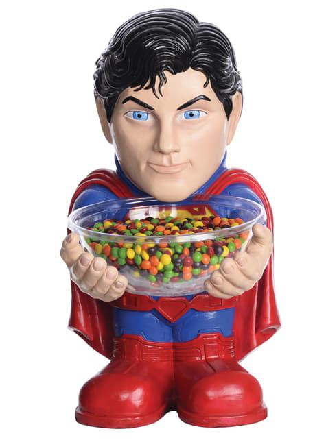 Suporte para rebuçados de Super-Homem
