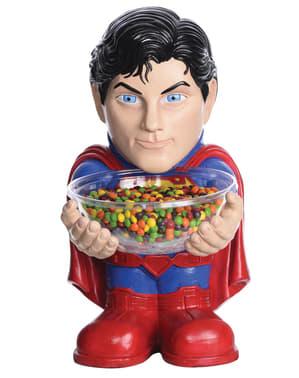 Superman cukorka tál tartó
