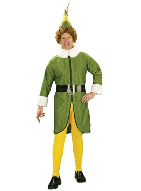 Mens Buddy Elf the Movie costume