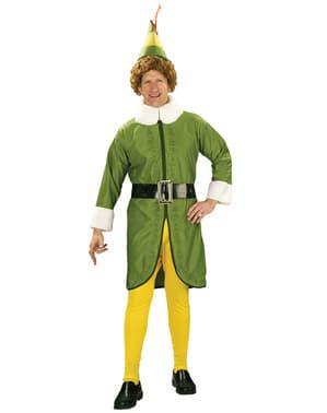 Fato de Buddy Elf - O Falso Duende para homem