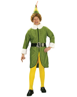 Mens Buddy Elf the Movie costume