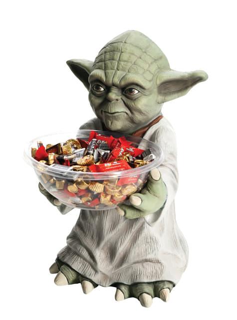 Yoda Star Wars candy bowl holder
