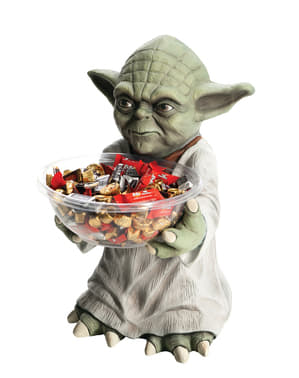 Yoda Star Wars candy bowl holder