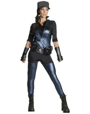 Fato de Sonya Blade Mortal Kombat deluxe para mulher