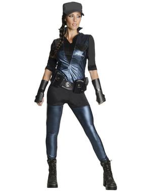 Sonya Blade Mortal Kombat Kostüm Deluxe für Damen