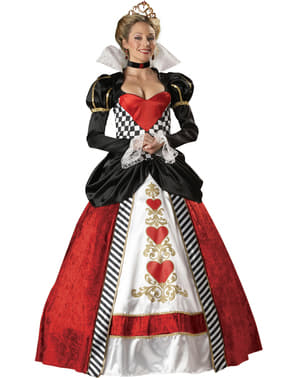 Womens Supreme Queen of Hearts Costume