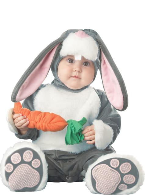 Fato de coelhinho cenoura para bebé
