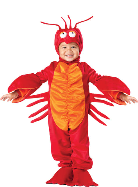 Disfraz de langosta bailona para niño