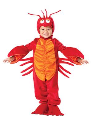 Tanzender Hummer Kostüm für Jungen