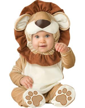 Costum de leuț curajos pentru bebeluși