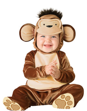 Babies Little Rascal Monkey Costume