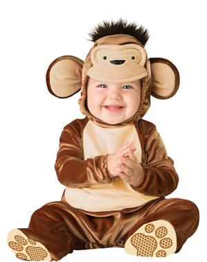 Klein aapje kostuum voor baby's