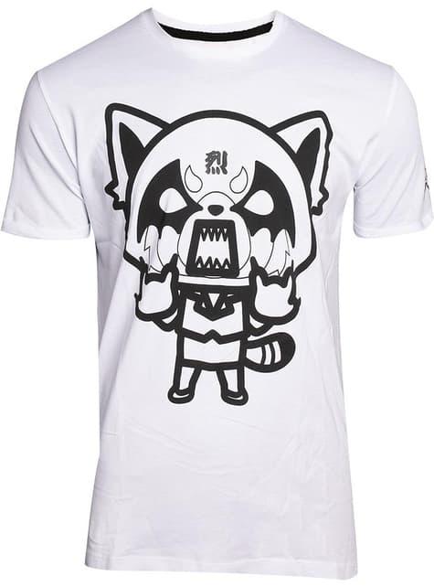 Aggretsuko T-Shirt voor mannen in wit