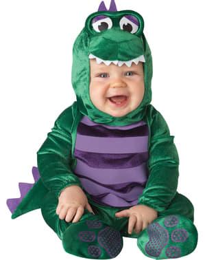 Costume da piccolo dinosauro per bebè
