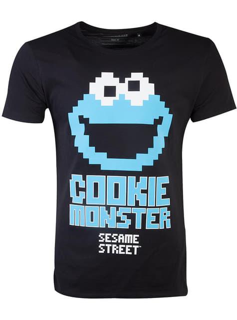 Koszulka Ciasteczkowy Potwór dla mężczyzn - Ulica Sezamkowa