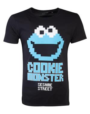 Cookie Monster T-shirt til mænd - Sesame Street