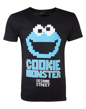 Cookie Monster T-Shirt voor mannen - Sesame Street